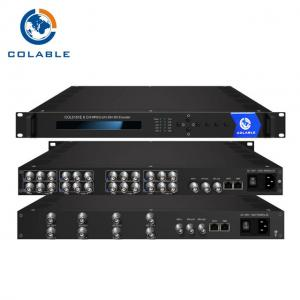 China 8 Analog To Ip Video Encoder , MPEG2 / H 264 AV To IP Video Streaming Encoder  COL5181E on sale