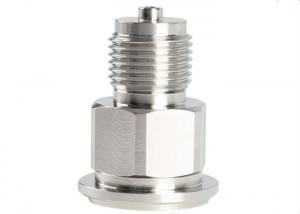 China Precision titanium alloy lathe CNC machining part vacuum hose fittings on sale