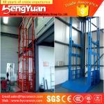 guide rail chain lifting machine/guide rail chain vertical guide rail goods lift