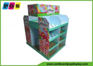 China Recycled Retail POS Cardboard Pallet Display Loading Heavy Products For Toys PA031 on sale