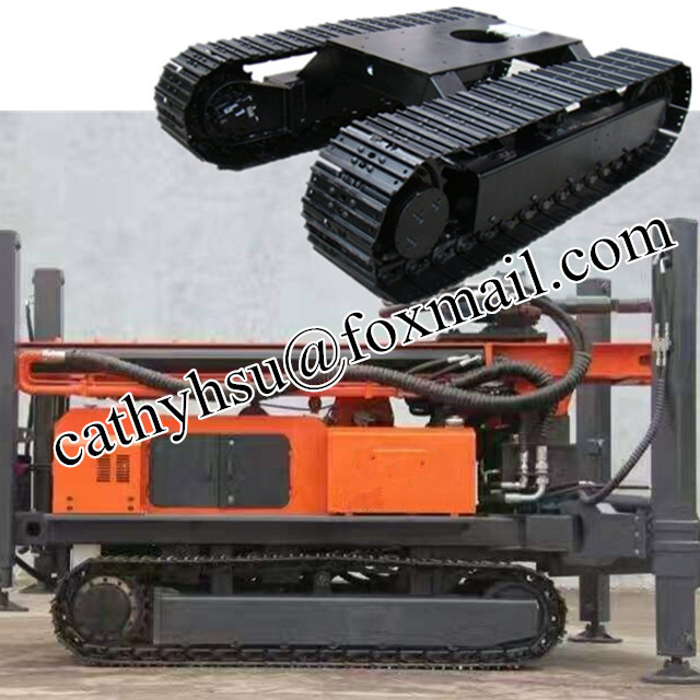 steel track undercarriage crawler undercarriage assembly
