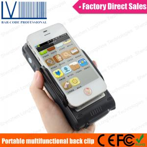 China 2014 NEW Portable Bluetooth 1D 2D Barcode+HF+UHF RFID Credit Card Reader on sale