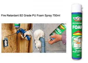 China All Purpose Waterproof Silicone Sealant Fireproof High Density Exterior PU Foam Spray on sale