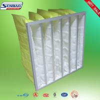 Ventilation System Carbon Air Filter Medium Efficiency Aluminum Frame