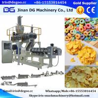 Corn flakes and breakfast cereal production line