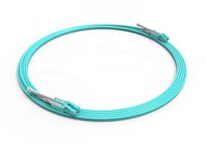 China LCPC-LCPC 3.0mm Uniboot Patch Cord , Duplex G652D OM3 Fiber Optic Cable on sale