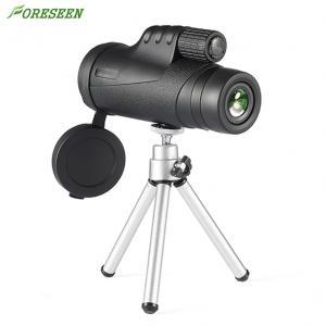 China 10X42 Green Coated Mobile Phone Mini Monocular Telescope Bk7 Prism Handwheel Focusing on sale