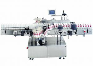 China Food and Beverage Automatic cold glue labeling machine for round bottles 380V, 50Hz on sale