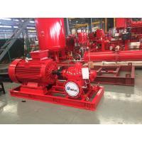 China Motor Pump Sets  400usgpm 108psi 3550rpm UL/FM Fire Fighting Pump End Suction sets on sale