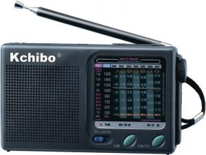 China KCHIBO ANALONG RADIO KK-9 FM/MW/SW1-7(TV2-5CH) 9 BAND RECEIVER RADIO on sale