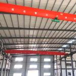 lifting tools outside industrial single girder overhead bridge crane with good design