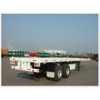 China 2 axle 40ft  40 tons Flatbed trailer in truck trailer | CIMC VEHICLE on sale