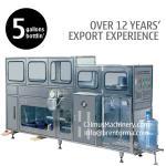 100BPH machine de remplissage de bouteilles automatique de machine d'embouteillage de l'eau de 5 ou 3 gallons
