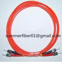 China ST MM Duplex Fiber Optic Cable on sale