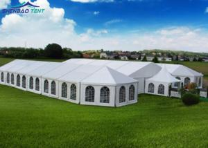 China Temporary Large 40m Aluminium Frame Marquee Tent Hall for Exhibition Trade Fair on sale