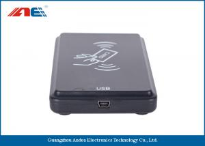 China OEM ODM Square USB RFID Reader Writer For Access Control ISO 15693 Protocol on sale