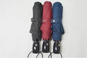 China High Quality Auto open and Close 3 Folding Umbrella on sale