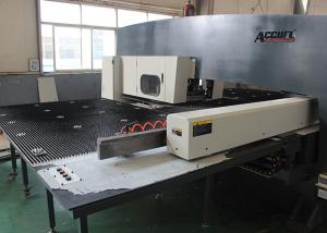China High Accuracy Manual CNC Punch Press Machine With Siemens Servo Drive System on sale
