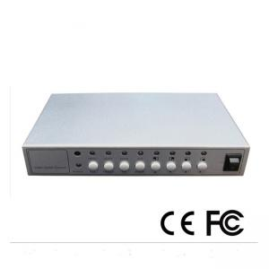 China Four Screen CCTV Color Quad Processor BNC Output Small Hd Video Splitter on sale