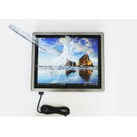 Flat panel Capacitive Touch Full IP65 Waterproof Stainless Steel Panel PC For Food Factory