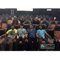Indoor 3D / 4D / 5D / 6D Cinema System , Motion Theater Chair