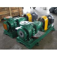 IHF50-32-200 rubber liner chemical pump
