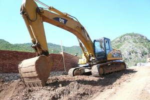 China Used Caterpillar construction CAT 330C 330c excavator/used 330CL 330D 320D on sale
