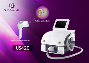 China Lady 808 Laser Hair Removal Device 0.5-10HZ Frequency Sliding Treatment Way on sale