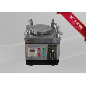 China Durable Fiber Polishing Machine , Fiber Optic Machine 8~40 Connectors One Time 230*230*255mm on sale