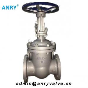 China Casted Steel GOST Valves 20 FLanged RF Handwheel Gear Operated Gate Valve on sale