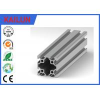 China 8080 T Slot Aluminum Extrusion Framing System for Work Machine Table Assembly on sale