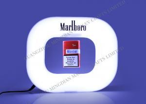 China Magnetic Floating Cigarette Display , Led Lighting Levitation on sale