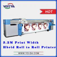 Flex Banner uv printer Inkjet uv flatbed car sticker hybrid printers price
