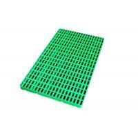 China Custom Warerhouse Ground Food Grade Green Plastic floor Pallet for Low Temperature Freezer -30 C on sale