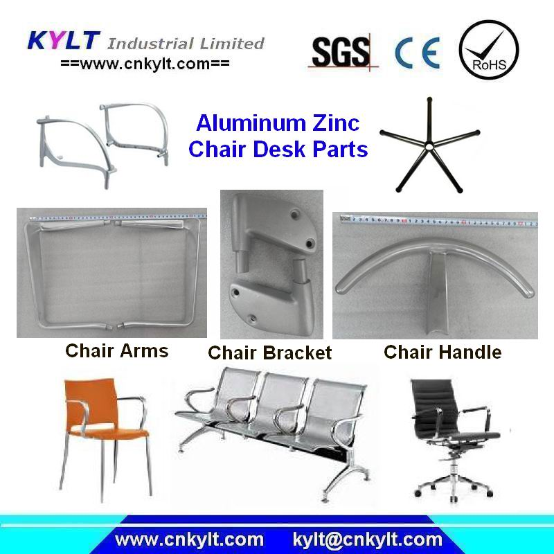 aluminum die casting chair parts