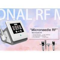 Fractional RF Microneedle Machine / Rf Fractional Micro Needle Wrinkle Remover Machine