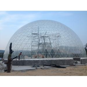 China 35m Aluminum Structure Transparent Large Dome Tent With PVC Coated on sale