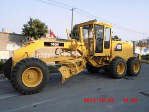 ... Quality Used Caterpillar 140 motor grader CAT 140H grader with ripper for sale ...