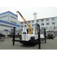 hybrid power crawler full hydraulic drilling rig