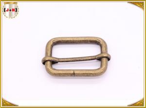 China Antique Brass Metal Loops Hardware , Pet Metal Collar Buckles For Bags Accessories on sale