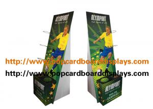 China Portable Lightweight Assemble Cardboard Floor Displays Environment Friendly on sale