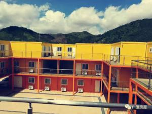 China Customized Prefab Commercial Buildings S Type Interface For School Dormitory on sale