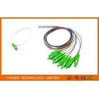 1x8 SC/APC Single mode OS2 9/125 Fiber Optic PLC Splitter FTTH Splitter