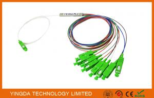China 1x8 SC/APC Single mode OS2 9/125 Fiber Optic PLC Splitter FTTH Splitter on sale