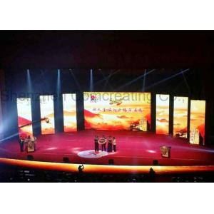 China Ultra Thin Light HD Digital Curved Led Screen For Stage Background , Aluminum Panel on sale