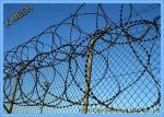 Razor Wire Fence Used with Barbed Wire Together for High Security Fencing