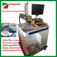 20W 30W 50W fiber laser marking machine for print words in metal