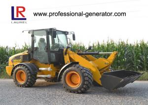 China 2500kg Rated Load Medium Wheel Loader Powered by 76kw YUNNEI Engine on sale
