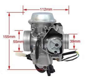 China 32mm PD32J Durable aluminium alloy motorcycle carburetor for 250cc-450cc fit for ATC250 TRX300 TRX350 TRX400 TRX450 supplier