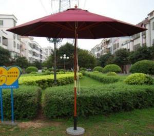 China Wooden Umbrella on sale
